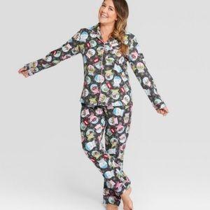 Holiday Snow Globe Pajamas L